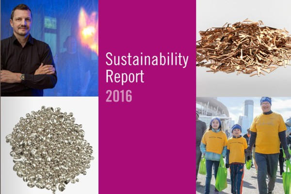 Sustainability at Heraeus - Report 2016