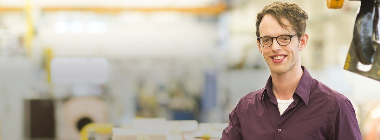 Robert Schlegel, PhD Student Solid State Chemistry, about his internship at Heraeus