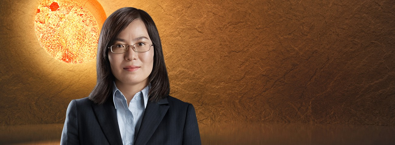 Edith Chen, General Counsel, about her work at Heraeus