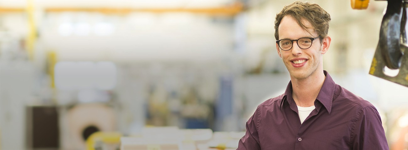 Robert Schlegel, PhD Student Solid State Chemistry, on his student internship at Heraeus