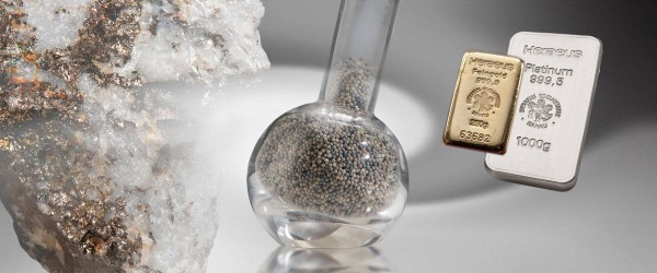 Unprocessed Precious Metals for Industries