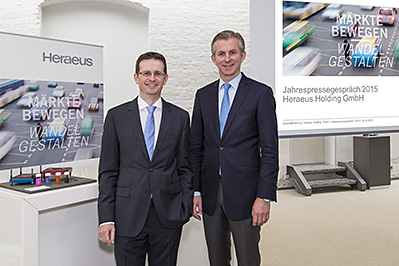 Heraeus Annual Press Conference 2015