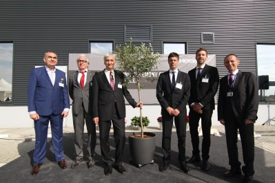 Heraeus opens factory near Timişoara - group picture