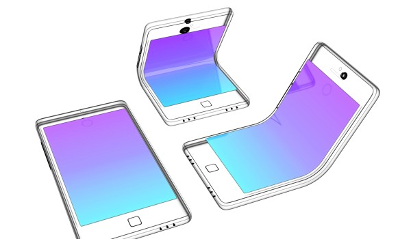 Foldable Touchdisplays