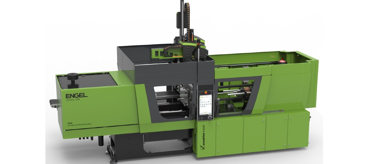 Engel has specifically developed a new, hydraulic injection moulding machine for processing Amloy alloys. The ENGEL victory AMM delivers fit-for-purpose components with a very high-quality surface finish in a single step.