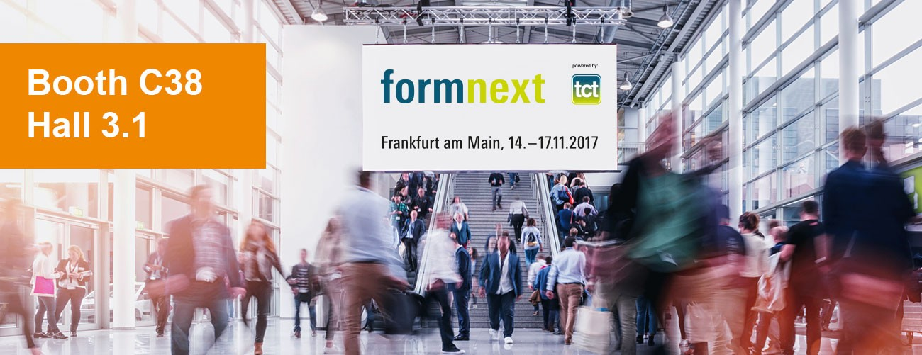 Heraeus Additive Manufacturing at Formnext Frankfurt 2017