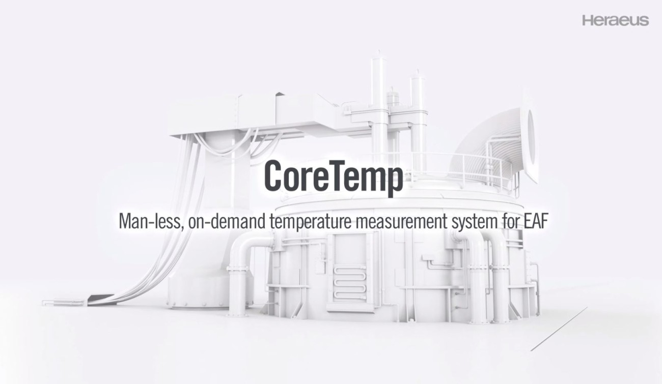 CoreTemp - Man-less, on-demand temperature measurement system for EAF