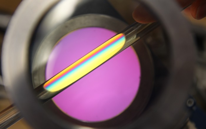 Stress in fused silica
