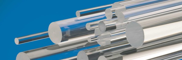 Fused quartz rods