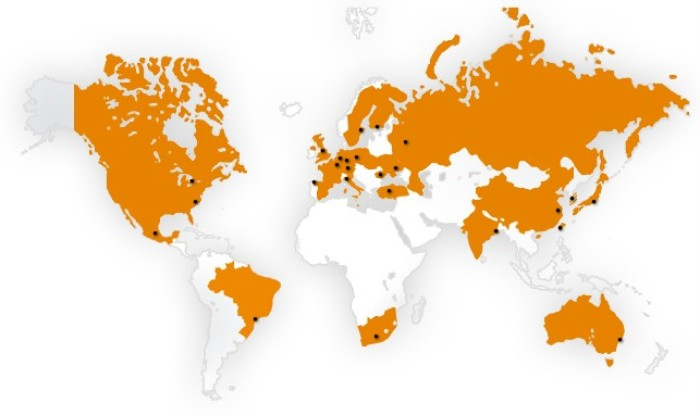 Heraeus Electronite Locations Worldwide
