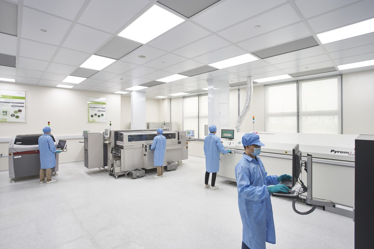 Application Center Singapore - Cleanroom