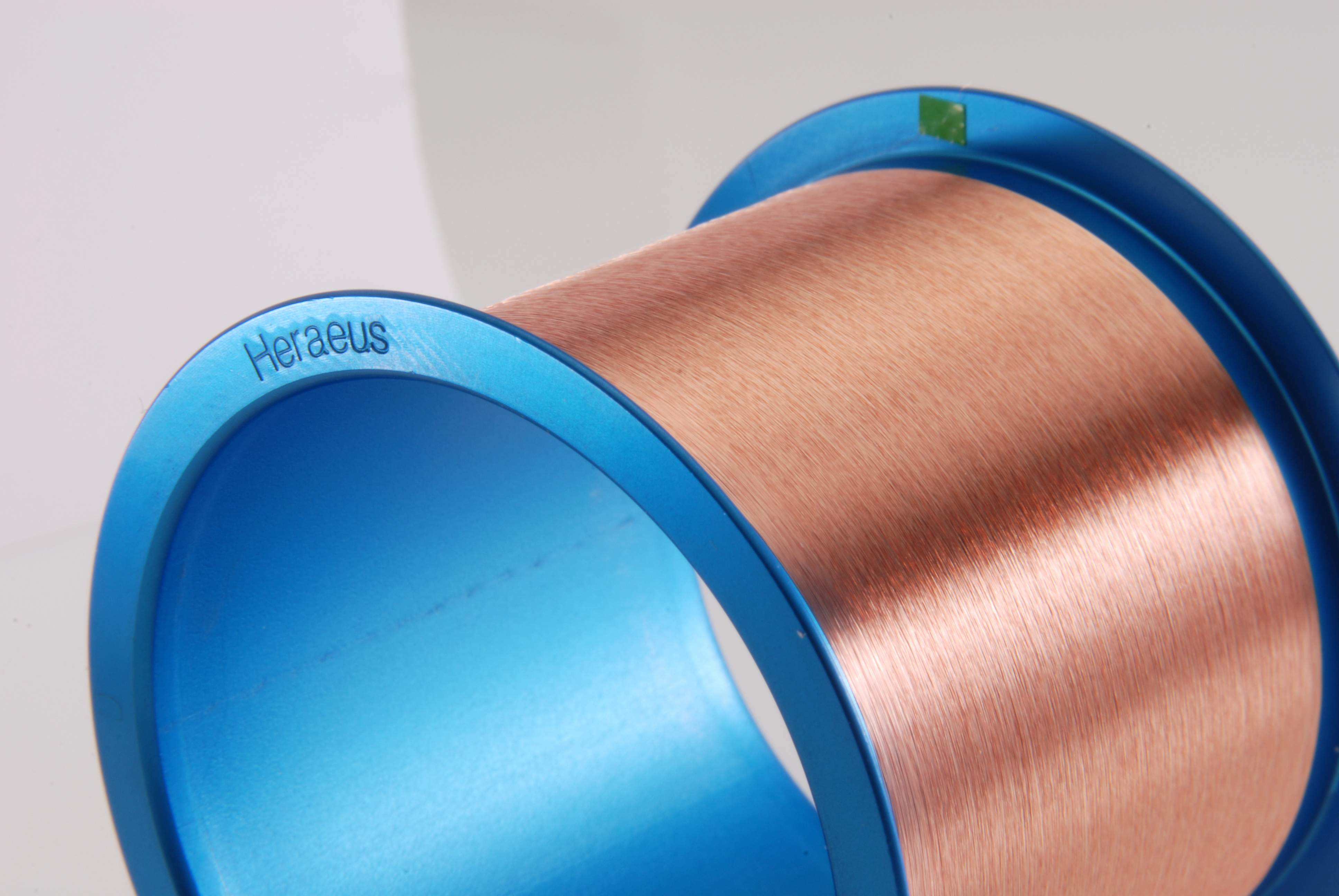 Heraeus Electronics Copper and Coated Copper Bonding Wires