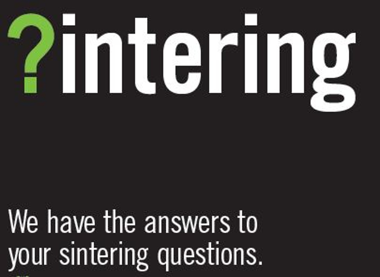 What is Sintering?