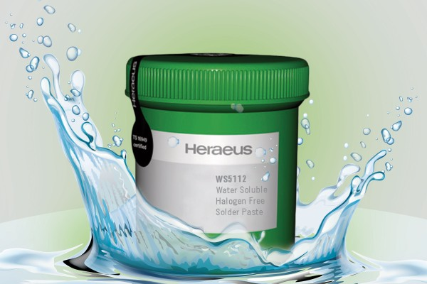 WS 5112 Water Soluable, Halogen Free Solder Paste
