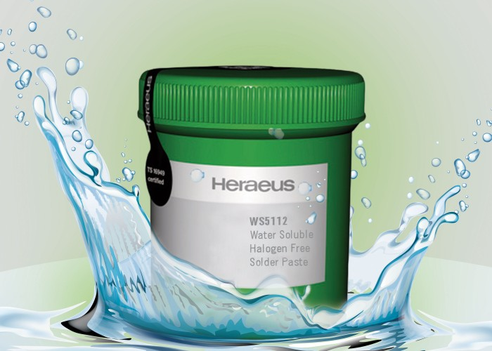 Water-Soluable Fine Pitch Solder Paste WS 5112