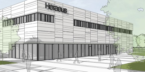 New production facility of Heraeus Medical GmbH in Wehrheim