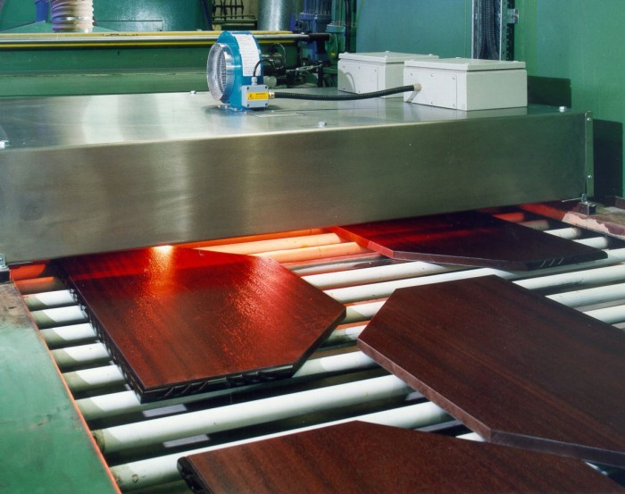 Infrared Technology in Wood Processing Industries
