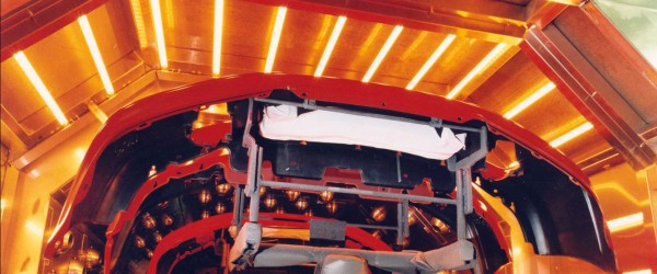 Infrared for Automobile Manufacturing Applications