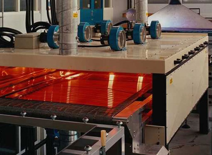 IR heat for glass and ceramics processing