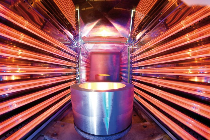 Coating applications using IR heat