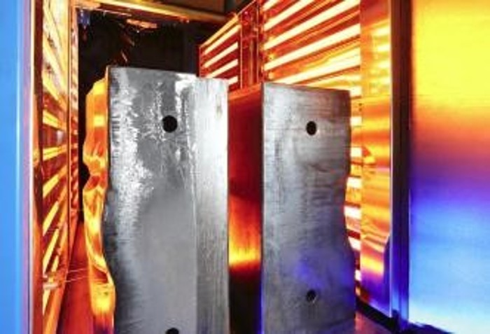 Infrared heat for metal processing