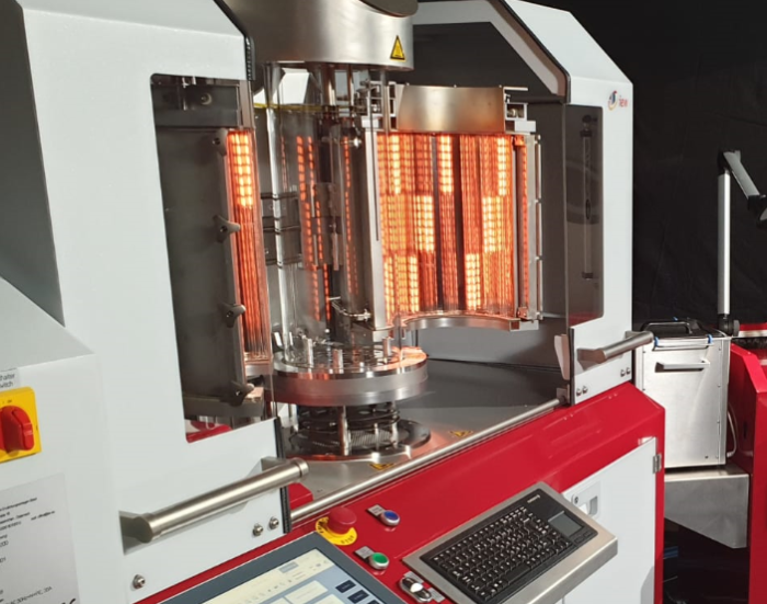 Infrared emitters optimize Vacuum Brazing Machine
