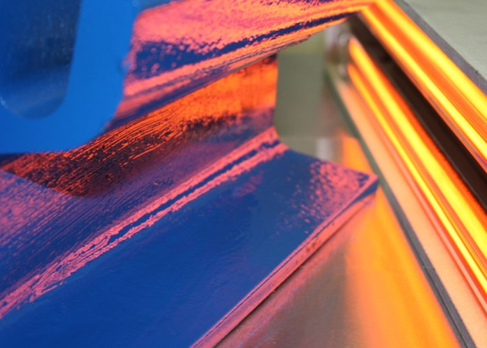 Curing and drying of coatings with UV and infrared heat