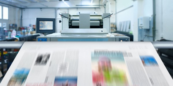 How is UV LED technology connected to the printing industry?