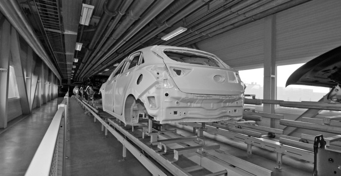 Curing of coatings in the automotive industry