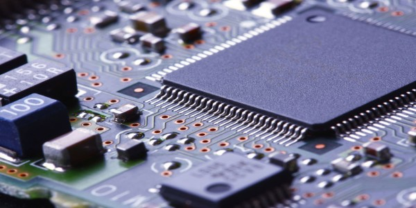 UV Curing of electronic components
