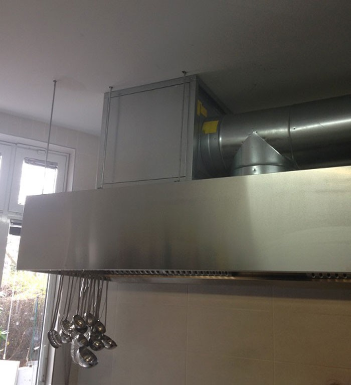 UV Solution For Kitchen Hood