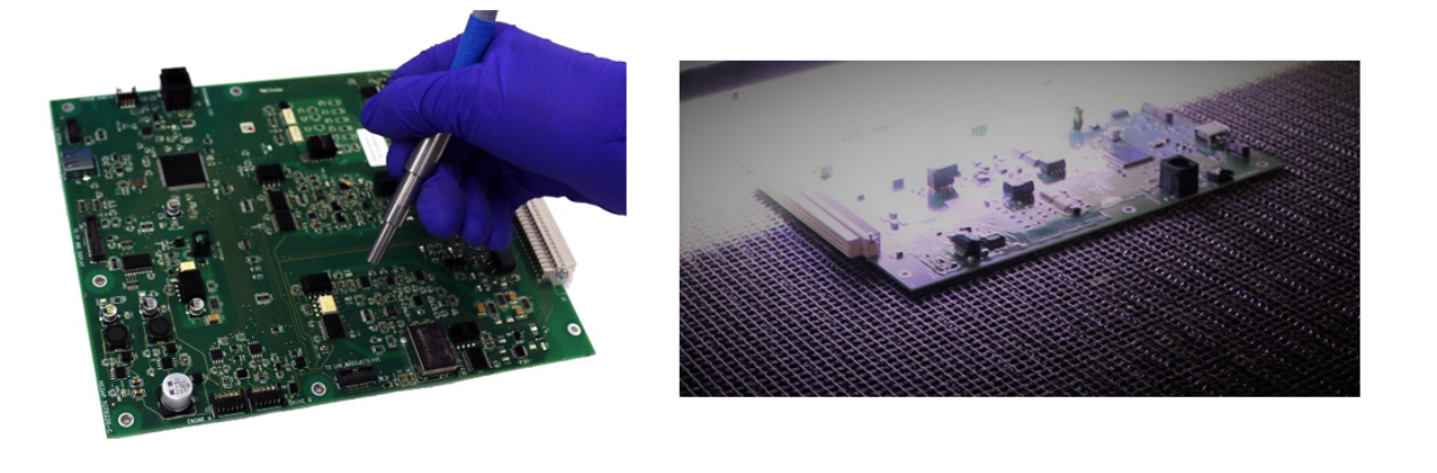 electronic board UV curing