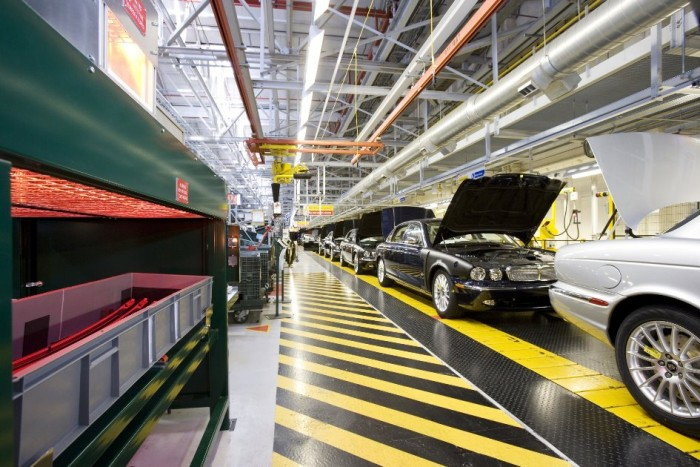 Infrared heat for car production