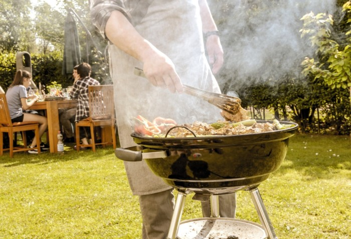 IR and UV systems for a successful barbecue