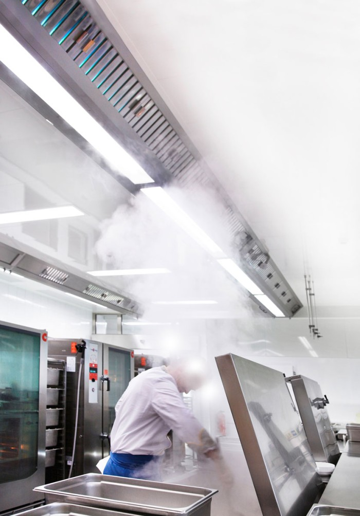 Special UV light defies kitchen fumes