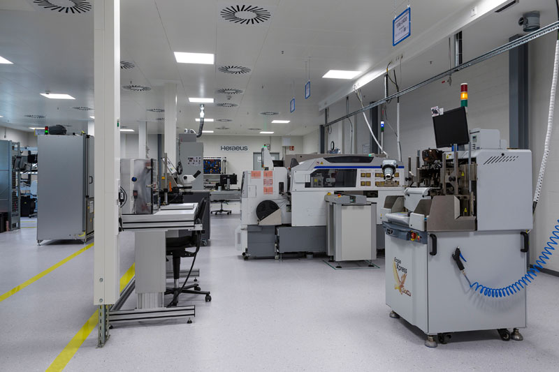 Most modern UV LED production