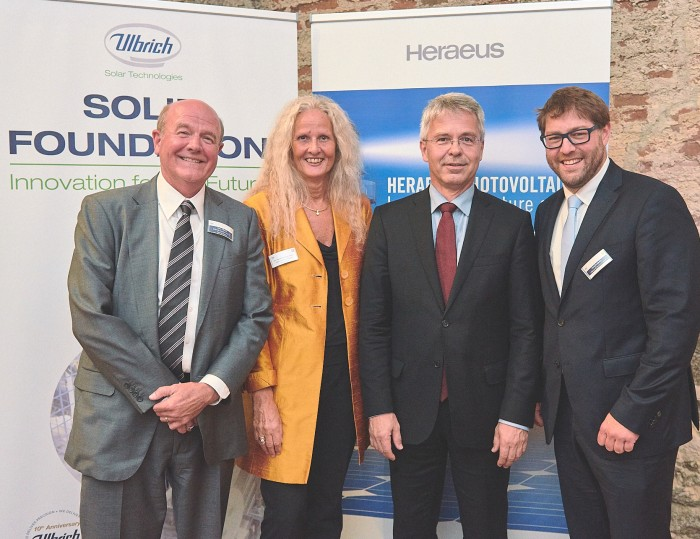 "Dr. Andre Kobelt, the Chief Commercial & Technology Officer for Heraeus: ""We view this agreement as an exciting opportunity for Heraeus to embark upon as we look to continue to expand our global footprint in the field of renewable energies."""
