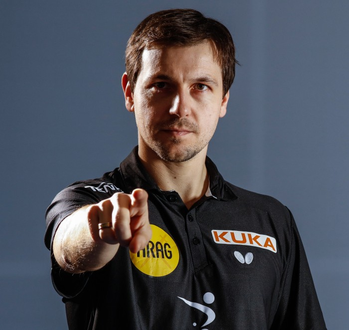 Meet Timo Boll for a match at our booth at SNEC 2018.