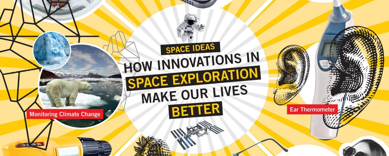 Info graphics: space ideas