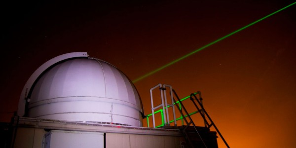 Laser Beams for a better GPS